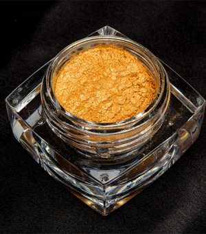 Mineral Pigment Eye Shadow GOLD SPECK
